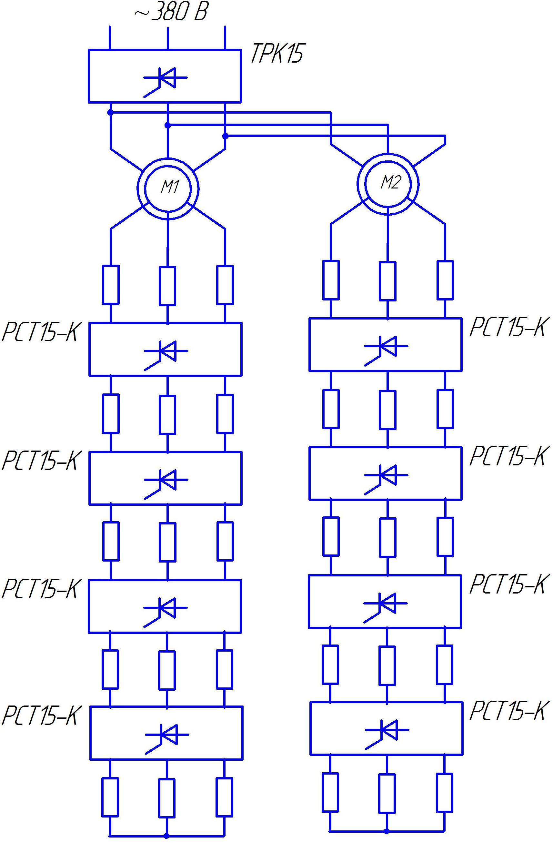 Схема крановых панелей